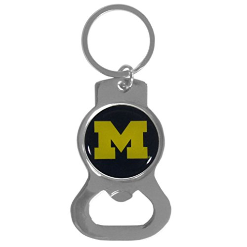 Ncaa Keychain Ring - NCAA Michigan Wolverines Bottle Opener Key Chain