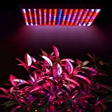 4 Counts Lot: High Power Blue Red Orange White Lamp 225 LED Plant Grow Light 12-inch Square Panel & Hanging Kit 5mm Bulb for Indoor Garden Hydroponic Growth