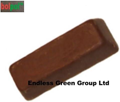 Bolpol BROWN 4 clean /& polish ideal polishing compound for use with Dremel General Purpose Buffing Bar Proxxon Buffing wheels