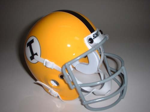 Schutt 1965 Iowa Hawkeyes Throwback Mini Helmet
