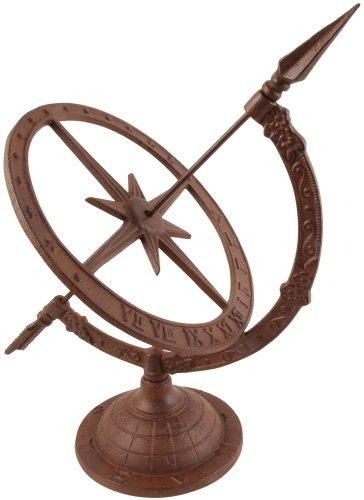 Esschert Design Small Cast Iron Sundial (TH38) by Esschert Design