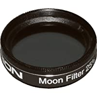 Orion 05598 1.25-Inch 25 Percent Transmission Moon Filter (Black)