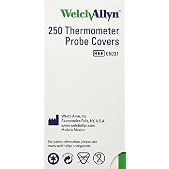 Welch-Allyn Disposable Probe Covers for SureTemp Plus 690 Thermometer - Qty of 250