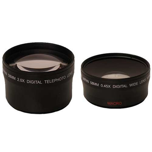 WIDE ANGLE & 3X TELEPHOTO 43MM 46MM 49MM 52MM 55MM 58MM