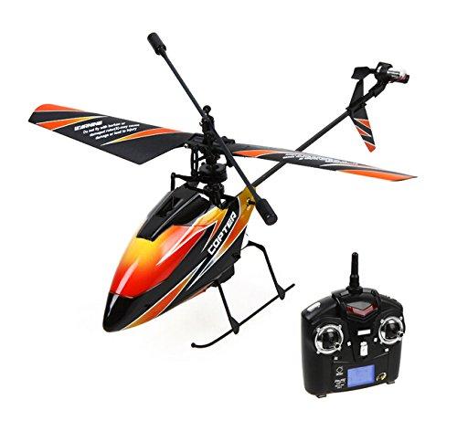 Nicky's Gift 4CH 2 4GHz Mini Radio Single Propeller RC Helicopter Gyro (Mini Radio Single Propeller)