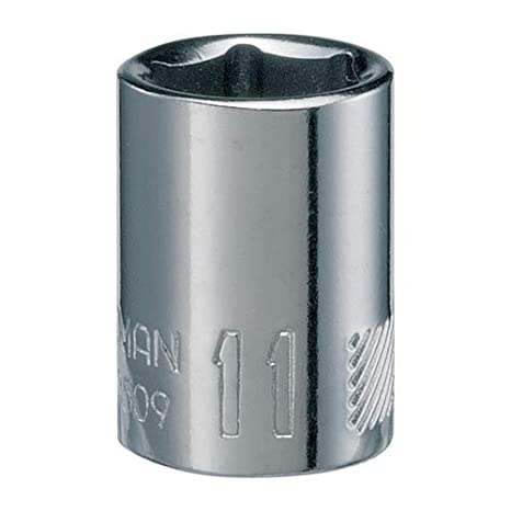 Metric 7mm CRAFTSMAN Shallow Socket 6-Point 1//4-Inch Drive CMMT43503