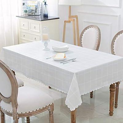 Jingtan Mantel de Mesa de Comedor de PVC Duradero, diseño no ...