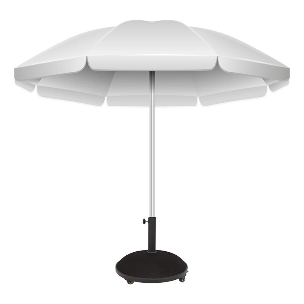 50x8 cm Aktive 53899 10 kg Base ombrellone Cemento con Ruote