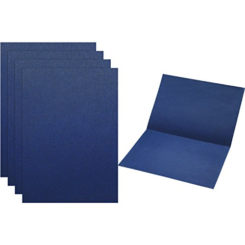 TecUnite Certificate Holder Diploma Documents Cover for Graduation and Award Certificates, 12.1 x 8.7 Inches (Navy (Graduation Certificate Holder)