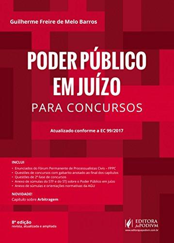 Poder Público em Juízo Para Concursos