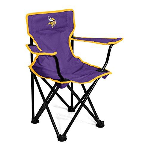 Logo Brands NFL Minnesota Vikings Toddler Chair, One Size, Purple from Logo Brands