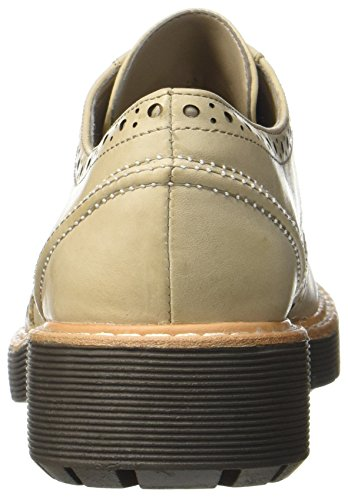 sand Leather Scarpe Witcombe Oxford Clarks Beige Donna Echo wTvxHEY