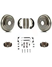 Rear Brake Drum Shoes Spring And Cylinders Kit For Chevrolet Aveo Spark Aveo5 Pontiac G3 Suzuki Wave Wave5 Swift+