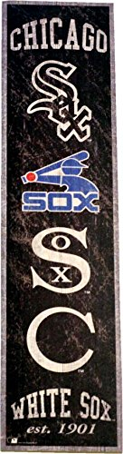 Fan Creations Chicago White Sox Heritage Banner Wood Sign 6