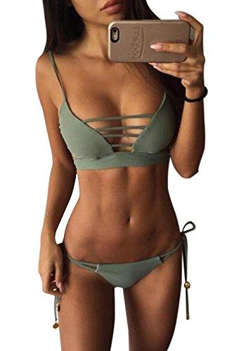 SVALIY Bandage Swimsuit Bikini Bathing product image
