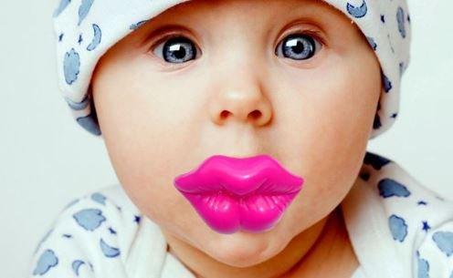 Amazon.com: Big Smooch. Besos labios Chupete. Calidad ...