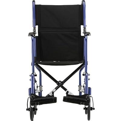 """NOVA 327 Lightweight Transport Chair, 17"""""""