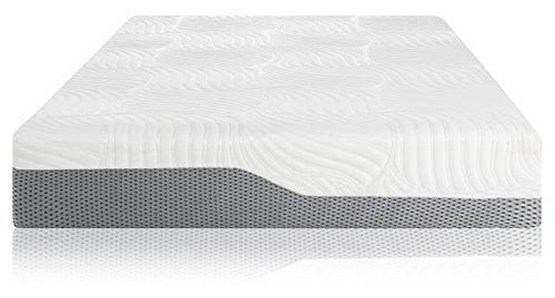 Voila Box Luxury Hybrid Coil-Spring Latex Mattress, Gel-Infused Memory Foam + Coils + Latex + Triple Edge Support + Breathable Cool Sleep Technology (11' Medium, Queen)