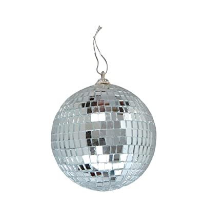 Miniature Four-Inch Disco Mirror Ball from Rhode Island Novelty