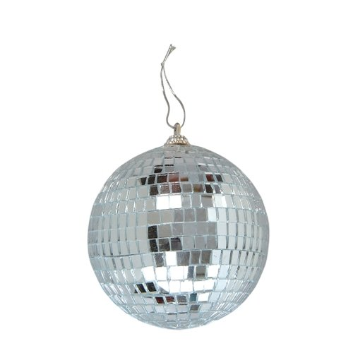 Hanging Disco Ball (Miniature Four-Inch Disco Mirror)