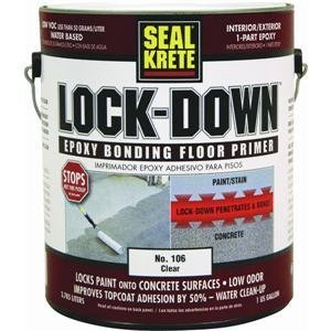 Lock-down Epoxy Bonding Floor Primer 1-Gallon by Convenience Products
