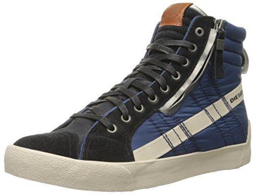 Diesel D-String Plus Hombres Moda Zapatos Antracita / Azul Oscuro