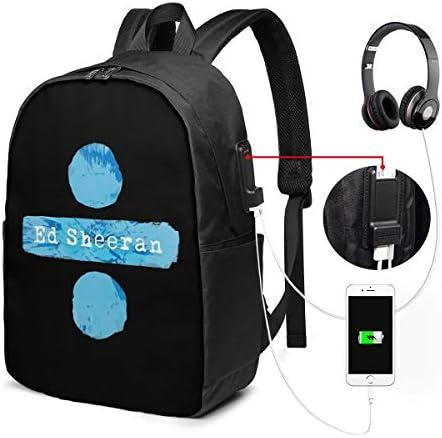 ビジネスリュック エドシーラン メンズバックパック 手提げ リュック バックパックリュック 通勤 出張 大容量 イヤホンポート USB充電ポート付き 防水 PC収納 通勤 出張 旅行 通学 男女兼用