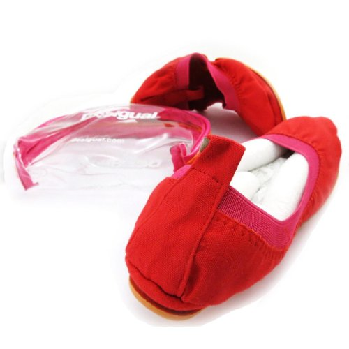Cotton 'Desigual' de Desigual Tr sors red J5401 Ballerinas Les Lily IOz0qIx