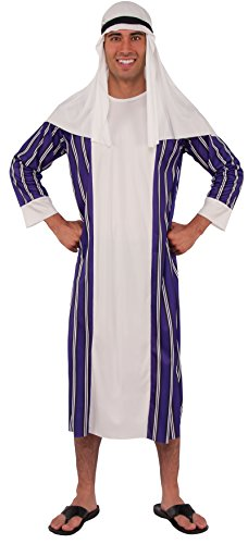 Rubie's Haunted House Collection Sheik Costume, White, One Size ()