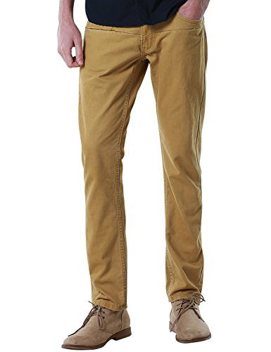 Match Men's Slim Fit Straight Leg Casual Pants (34, 8065 -