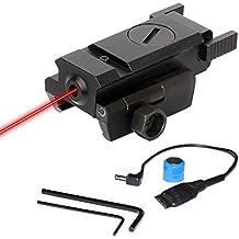 Twod Gun Sight Laser Red Dot Quick Release for Gun Rifle Pistol P-i-c-at-i-n-n-y Mount