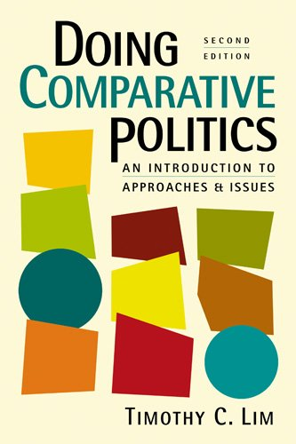 Book cover from Doing Comparative Politics: An Introduction to Approaches and Issues by Timothy C. Lim