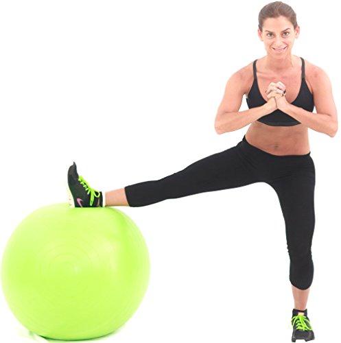 Bosu Ball Standing Desk: 2000lbs Exercise Stability Ball By Pavandeep Anti Burst