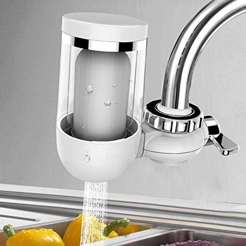 ZTT Sistema de filtración de Grifo Health House Faucet Purificador de Agua Filtro de Agua del Grifo Doble Filtro de Faucet Diseño de Agua Dura para una Buena Cocina en casa: Amazon.es