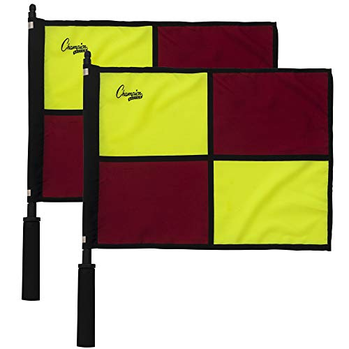 Champion Sports Official Checkered Flag with -