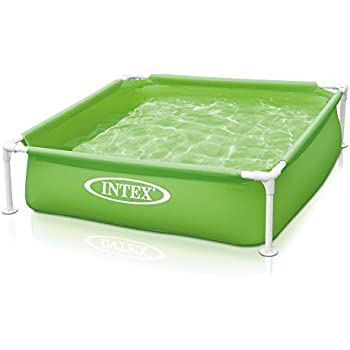 Intex mini frame kids 48 x48 x12 beginner for Intex mini frame pool afdekzeil