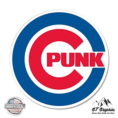Chicago Punk Fan - Vinyl Sticker Waterproof Decal