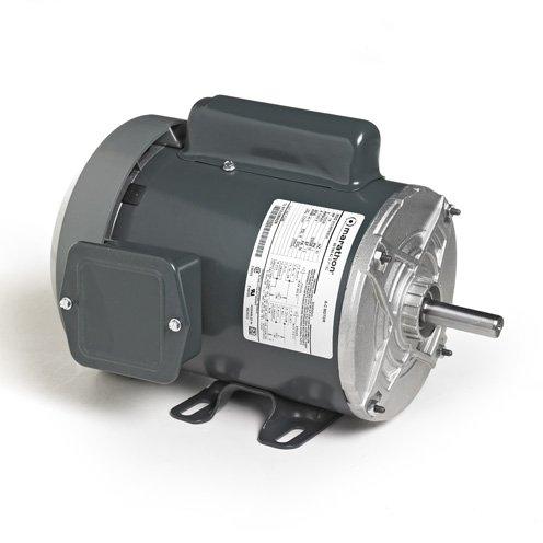 Marathon Electric C462 - General Purpose Motor - 1 ph, 1/4 hp, 1500 rpm, 110/220 V, 48 Frame, TEFC Enclosure, 60 Hz, Rigid Mount ()