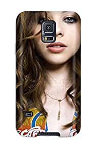 Hot Tpu Cover Case For Galaxy/ S5 Case Cover Skin - Michelle Trachtenberg 8692286K49023814