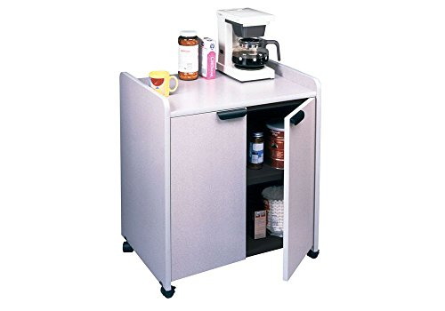 Mobile Utility Cabinet Nebula Gray Dimensions: 27''W x 20''D x 31''H Weight: 89 lbs. by Mayline