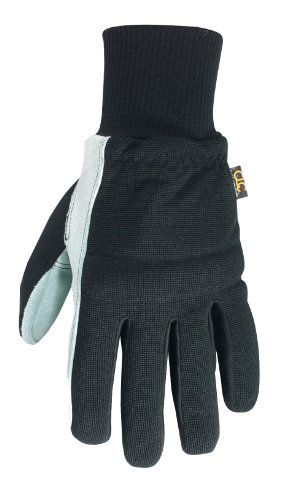 CLC Custom Leathercraft 260XL Work Gloves with Suede Palm and Knit Wrist, XL