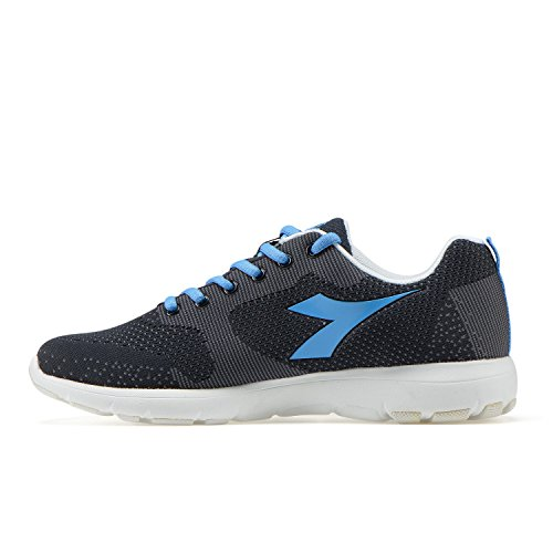 blue Laufschuhe W X C4811 Damen Black Blue Diadora Light Run q8UwTw