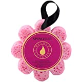 Spongelle Wild Flower Buffer - Body Wash Infused Shower/Bath Sponge - Bulgarian Rose