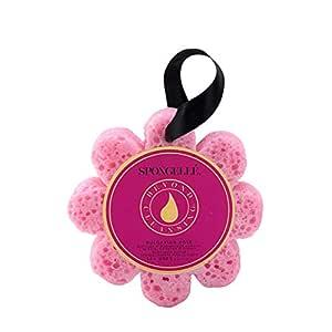 Spongelle Wild Flower Buffer - Body Wash Infused Shower/Bath Sponge - Bulgarian Rose
