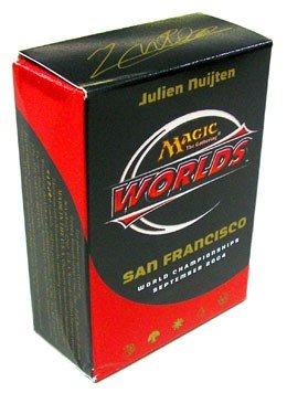 Magic The Gathering 2004 World Championship San Francisco Deck World Champion Julien Nuijten
