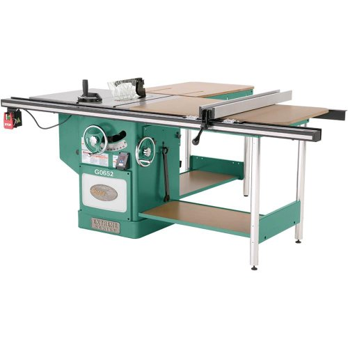 Grizzly Saw Cabinet (Grizzly G0652 3-Phase Heavy-Duty Cabinet Table Saw with riving knife, 10-Inch)