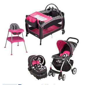 Evenflo Marianna Collection Baby Gear Bundle
