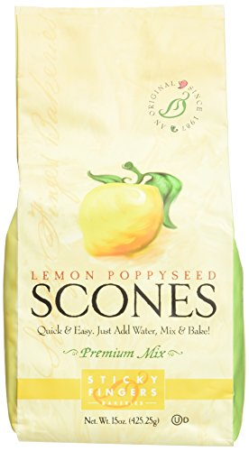 Sticky Fingers English Scone Mix Lemon Poppyseed ()
