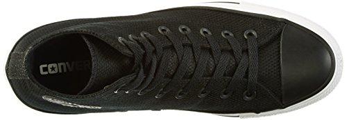 Converse Tech Deboss - Zapatillas Unisex adulto Mehrfarbig (Black/White/Brown)