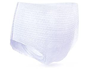 Tena Incontinence Underwear For Women, For Overnight, Medium, 16 Count (Pack of 4) by TENA